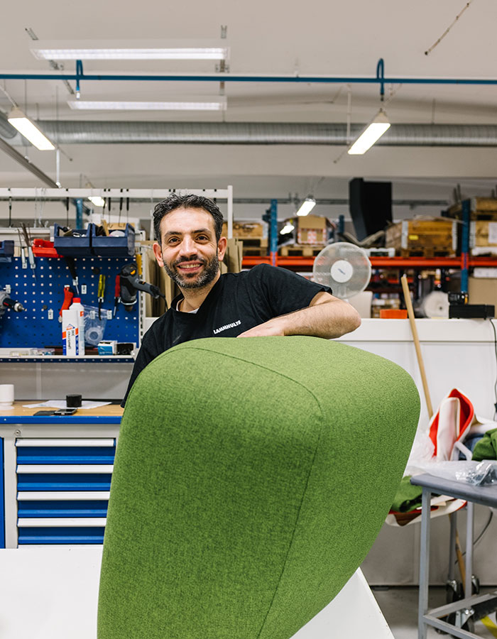 Upholstery at Lammhults