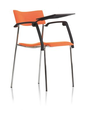Campus – Armchair 4 legs w laptop support