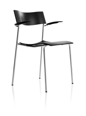 Campus Air – Armchair 4 legs
