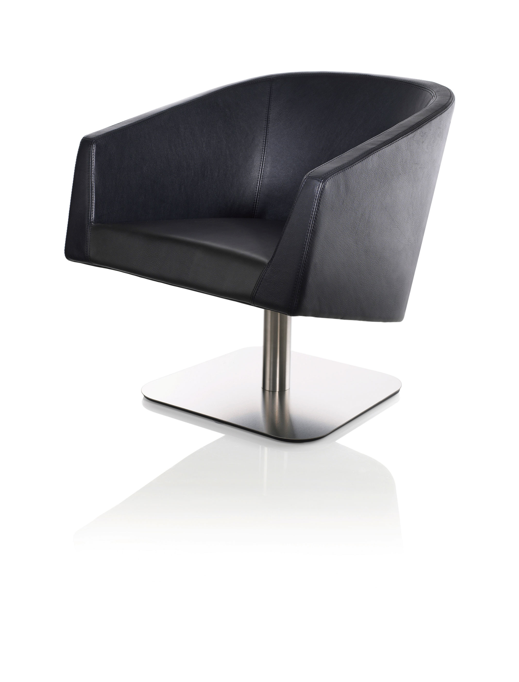 Club Easy Chair Swivel Base