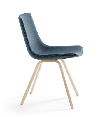 Comet Sport – Chair 4 legs, wooden frame