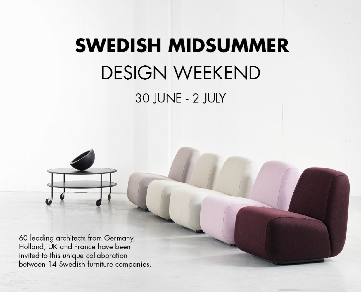 Swedish Midsummer Design Weekend News& Stories Lammhults