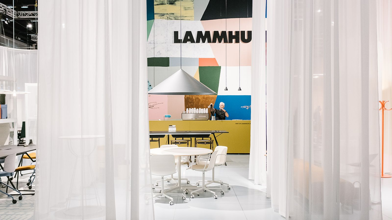 Lammhults at Stockholm Furniture Fair 2018 News& Stories Lammhults